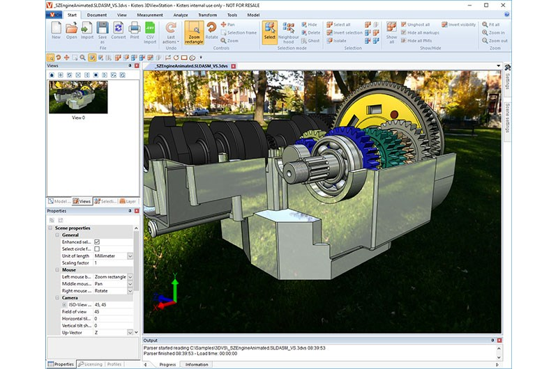 3D View Station from Axelent Engineering